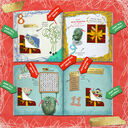 Personalised 'Christmess Advent-ure!' Christmas Advent Book additional 5