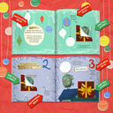 Personalised 'Christmess Advent-ure!' Christmas Advent Book additional 3