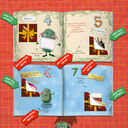 Personalised 'Christmess Advent-ure!' Christmas Advent Book additional 4