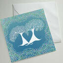 Illustrated Trees Greetings Cards (Set Of Four) additional 4