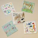 Illustrated Birthday Cards (Set Of Five) additional 1