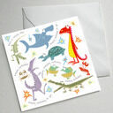 Illustrated Birthday Cards (Set Of Five) additional 2