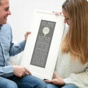 30th Birthday 'The Day You Were Born' Special Edition Personalised Print additional 1