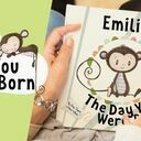 'The Day You Were Born' Personalised New Baby Book additional 2