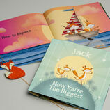 'Now You're the Biggest' Personalised Children's Book additional 12