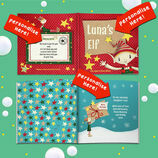 'Your Elf' Personalised Children's Christmas Story Book additional 3