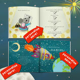 'Mouse With No House' Personalised Child's Birthday Book & Cuddly Mouse additional 7
