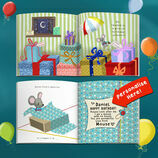 'Mouse With No House' Personalised Child's Birthday Book & Cuddly Mouse additional 8