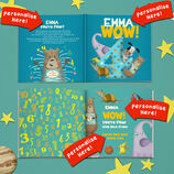 \'Wow You\'re Four\' 4th Birthday Children\'s Book additional 5