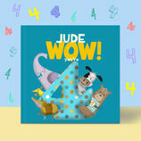 \'Wow You\'re Four\' 4th Birthday Children\'s Book additional 2
