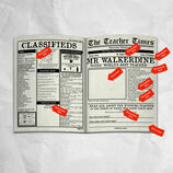 'The Teacher Times' Personalised Newspaper for Teachers additional 2