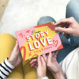 Personalised 'Our Love Story' A5 Book additional 2