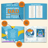 Personalised \'Adventures With Dad\' A5 Book additional 2