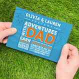 Personalised \'Adventures With Dad\' A5 Book additional 1