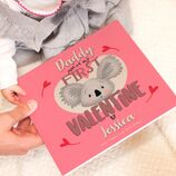 \'You\'re My First Valentine\' Personalised Book For Parents additional 1