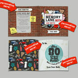 Personalised 85th Birthday \'Memory Lane\' Book additional 2