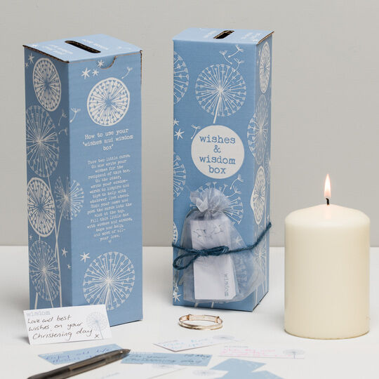 Christening 'Wishes & Wisdom Box'