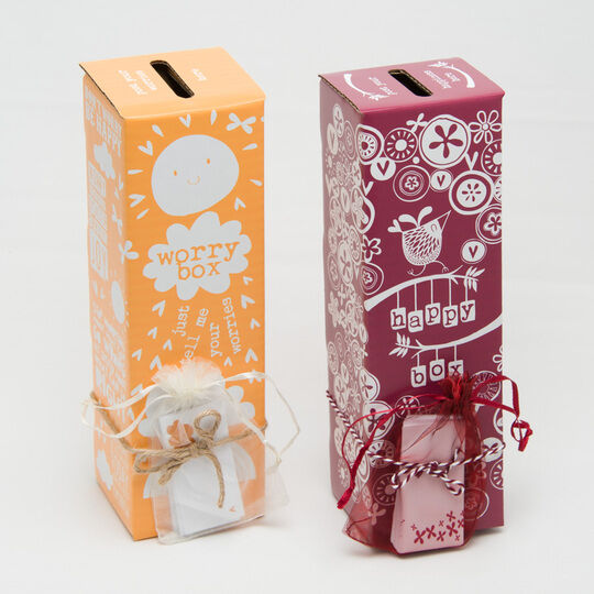 The Worry Box & Happy Memories Box Bundle