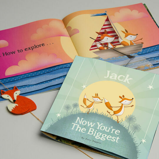 'Now You're the Biggest' Personalised Children's Book