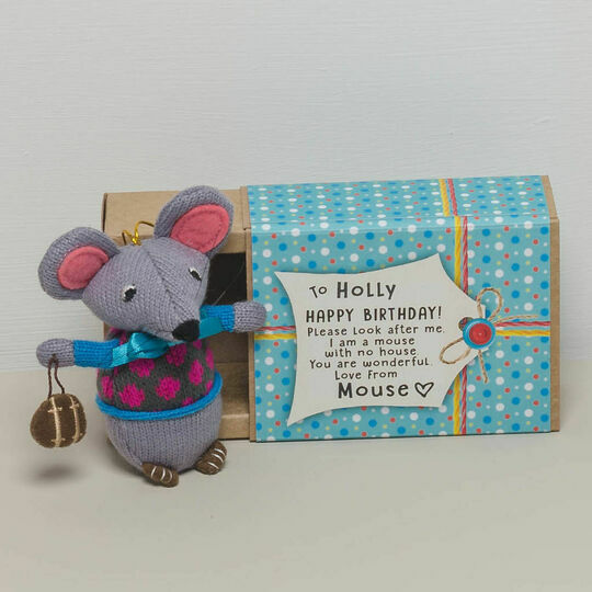'Mouse With No House' Cuddly Mouse
