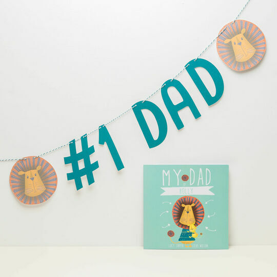 Personalised 'Our Dad' Themed Bunting