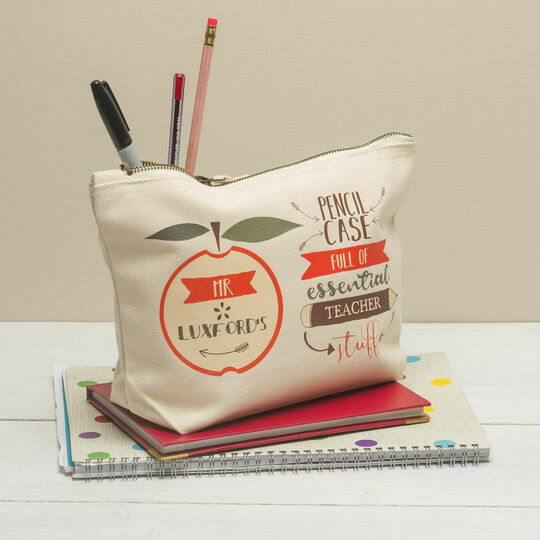 Personalised Pencil Case For Teachers