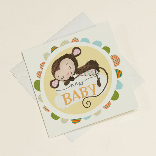 New Baby Greetings Card