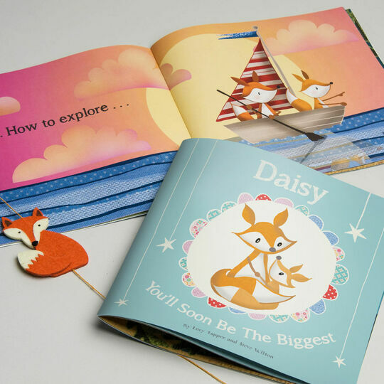 You'll Soon Be The Biggest Book Personalised Children's Book