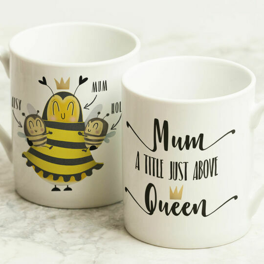 Personalised Queen/Mum Mug For Mum