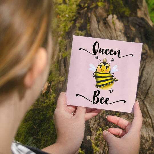 Queen Bee Greetings Card for Her