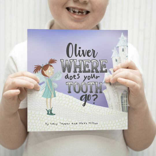'Where Does Your Tooth Go?' Personalised Tooth Fairy Book