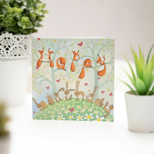 Woodland Birthday Illustrated Birthday Card