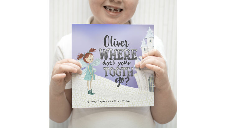 \'Where Does Your Tooth Go?\' Personalised Tooth Fairy Book